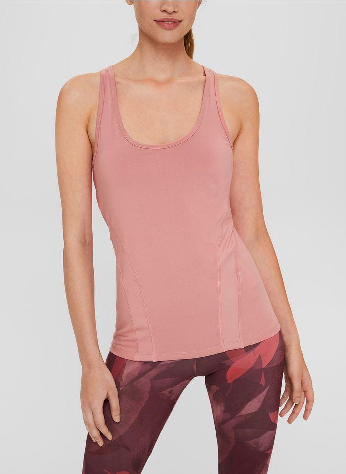 ESPRIT Singlet met ronde hals Roze
