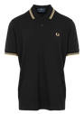 FRED PERRY BLACK/CHAMPAGNE Zwart