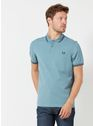 FRED PERRY ASH BLUE Blauw