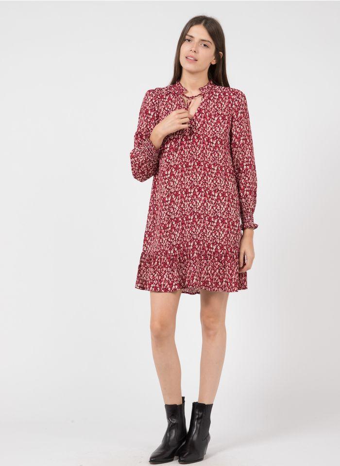 KARL MARC JOHN Korte jurk met V-hals en bloemenprint Roze