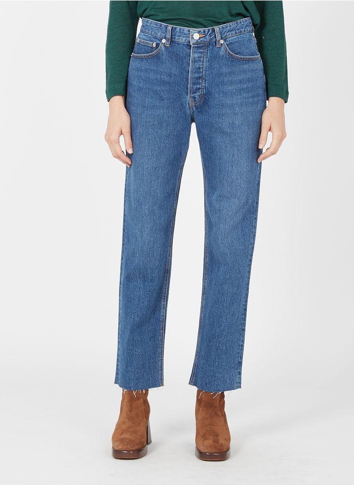 LAB DIP Rechte jeans Jeans verschoten