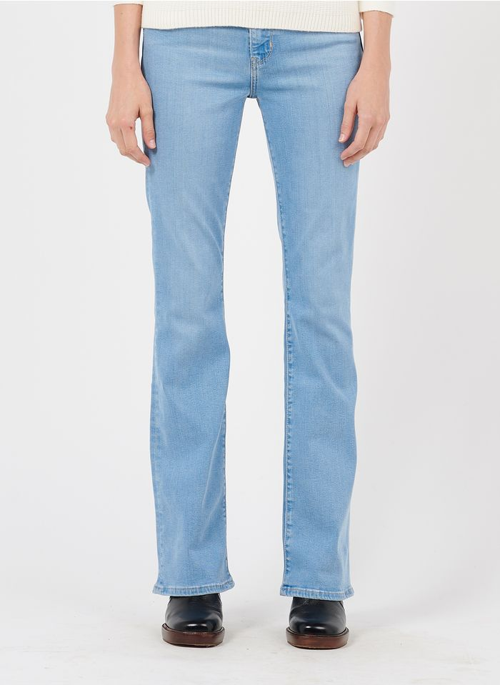 LEVI'S Bootcut-jeans met hoge taille Blauw