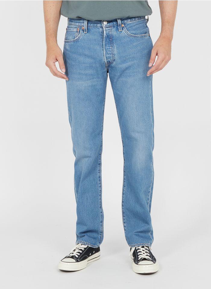 LEVI'S Verwassen jeans 501 Blauw