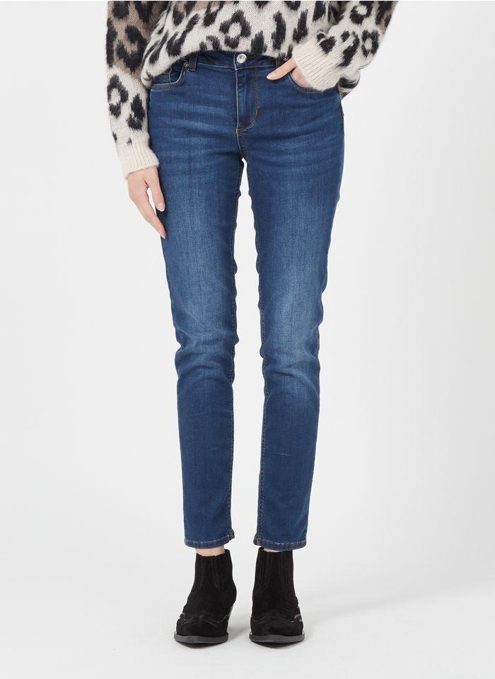 LIU JO Rechte jeans Jeans verschoten