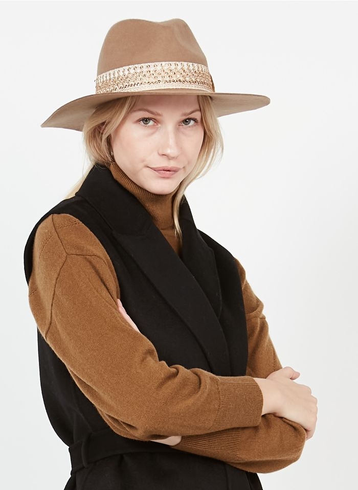 MARADJI Wollen hoed Beige