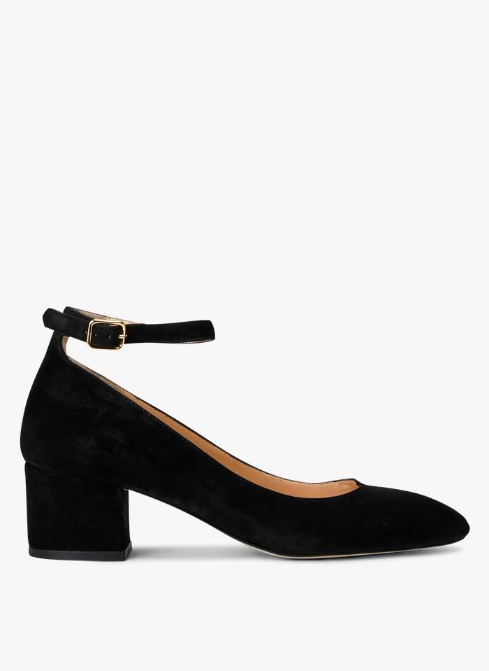 MINELLI Leren Mary Jane-schoenen Zwart
