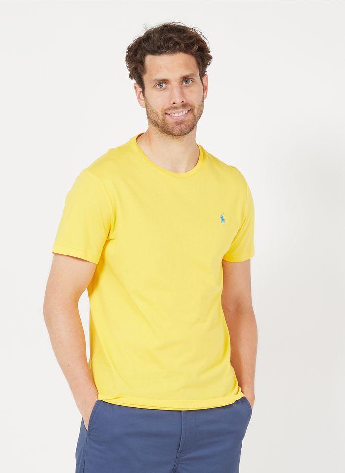 POLO RALPH LAUREN Katoenen T-shirt met ronde hals Geel