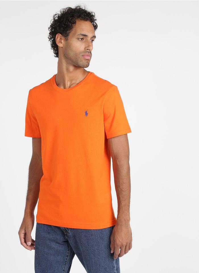 POLO RALPH LAUREN Katoenen T-shirt met ronde hals Oranje