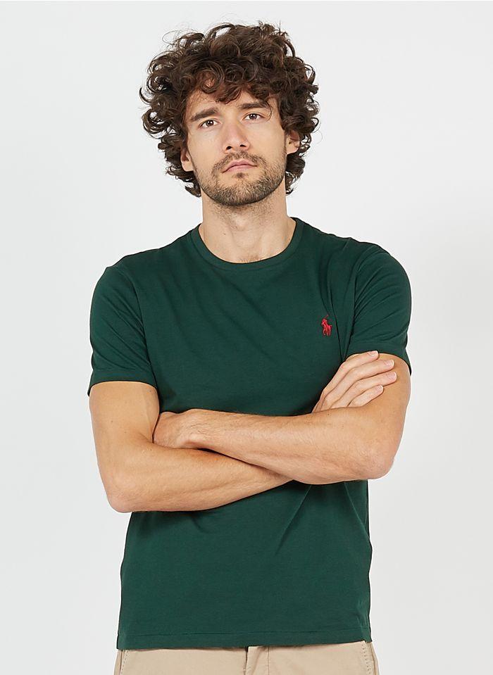 POLO RALPH LAUREN Katoenen T-shirt met ronde hals Groen