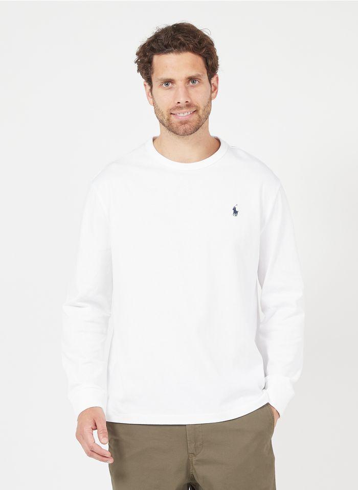 POLO RALPH LAUREN Katoenen T-shirt met ronde hals Wit