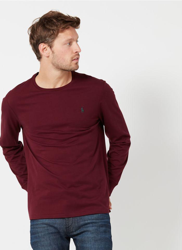 POLO RALPH LAUREN Regular-fit, katoenen T-shirt met ronde hals Rood