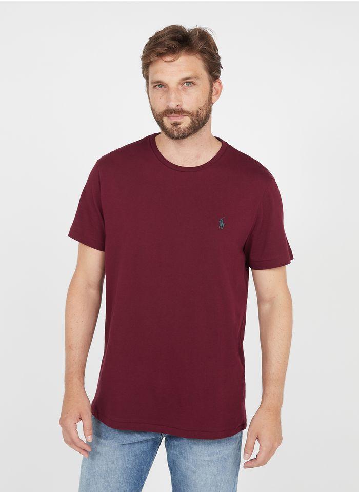 POLO RALPH LAUREN Slim-fit, katoenen T-shirt met ronde hals Rood