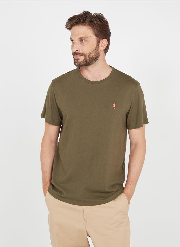 POLO RALPH LAUREN Slim-fit, katoenen T-shirt met ronde hals Groen