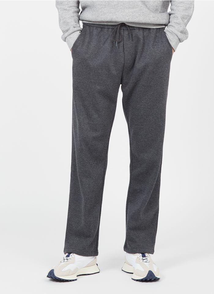 SAMSOE SAMSOE Regular-fit broek met elastische taille Grijs