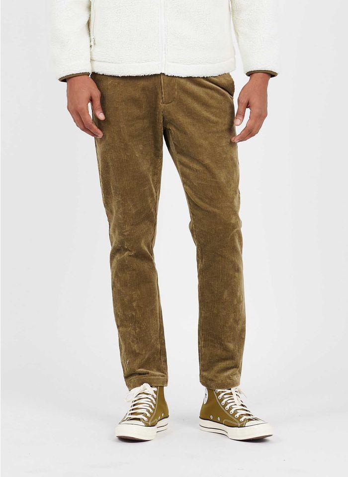 SAMSOE SAMSOE Slim-fit broek van corduroy Groen
