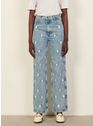 SANDRO Bleached - Denim Jeans verschoten