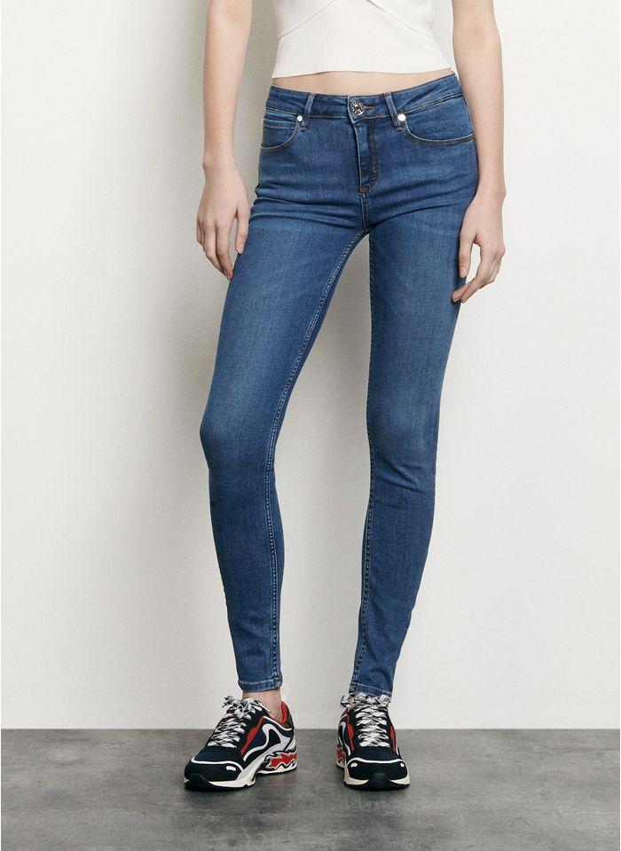 SANDRO Slim-fit jeans met normale taille Jeans verschoten