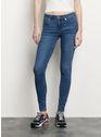SANDRO BLUE VINTAGE - DENIM Jeans verschoten