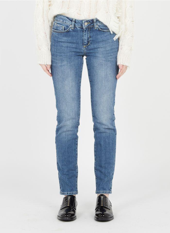 SUD EXPRESS Slim-fit jeans met verwassen effect Jeans verschoten