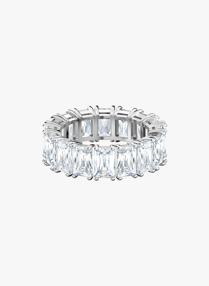 SWAROVSKI Ring met kristallen Wit