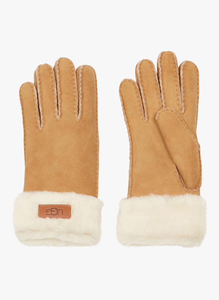 UGG Handschoenen van schapenvacht Beige